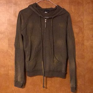 Wet Seal Zippered Hoodie